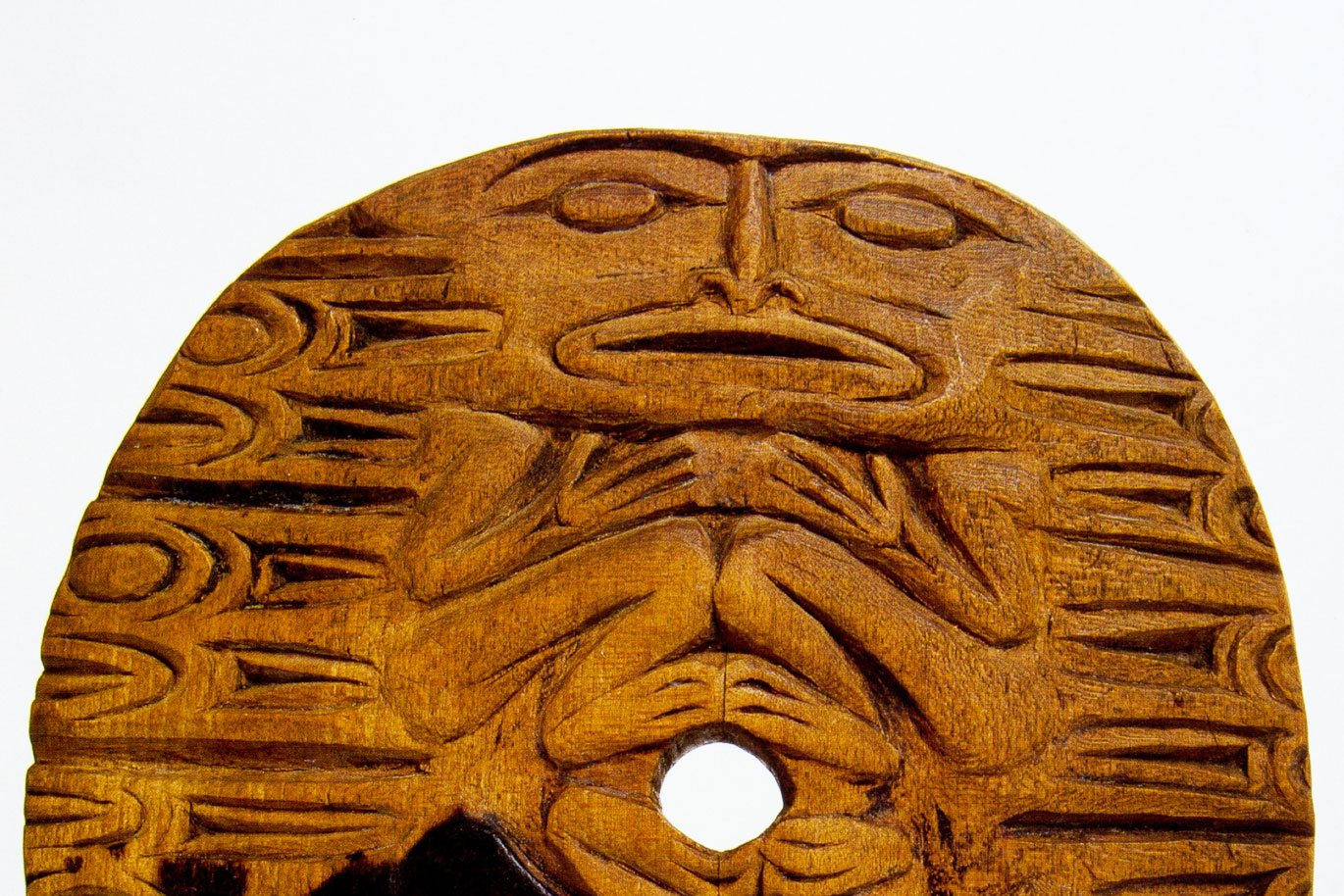 Coast Salish spindle whorl