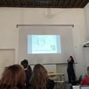 Professor Estelle Lingo teaching