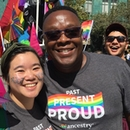 Holly Chan with others at Oakland Pride 2019