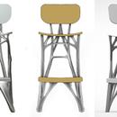 Three stool designs by Justin Lund