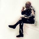 Drawing of Denzil Hurley by Miha Sarani