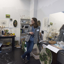 Painting + Drawing MFA studio