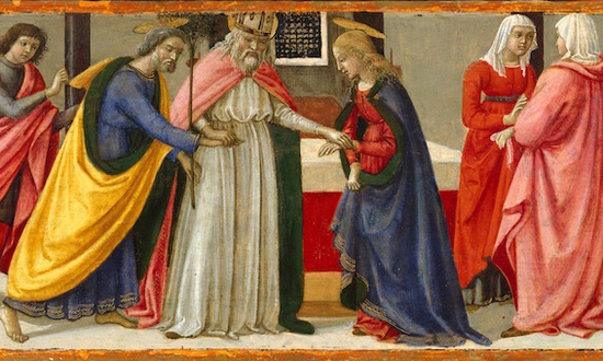 Marriage of the Virgin by Ghirlandaio