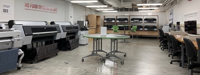 Computer printing room