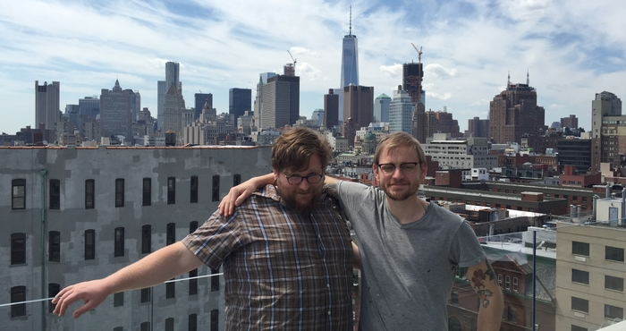Graduate students in New York city