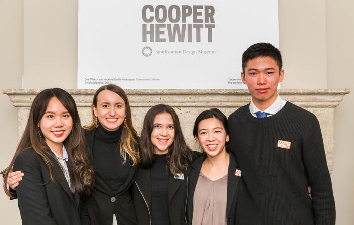 Interaction Design students at Cooper Hewitt