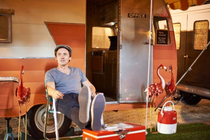 Lucas Spivey and his Mobile Incubator