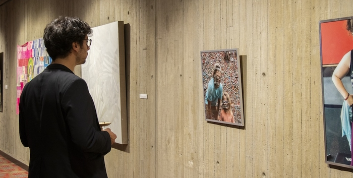 Student work exhibition at Meany Hall