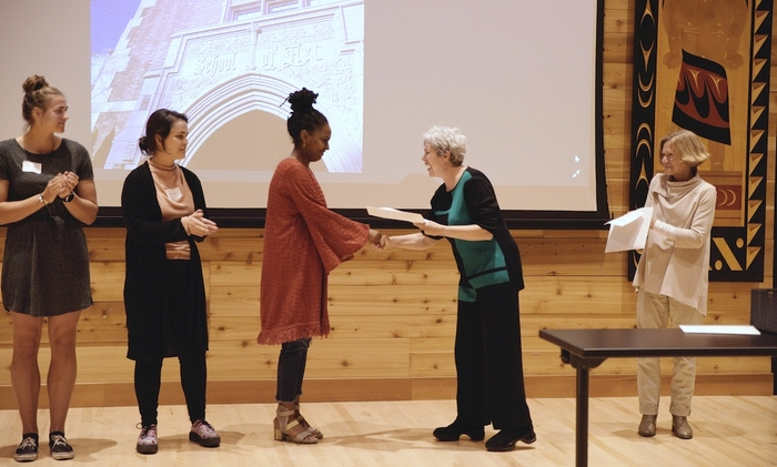 2018 Scholarship Reception