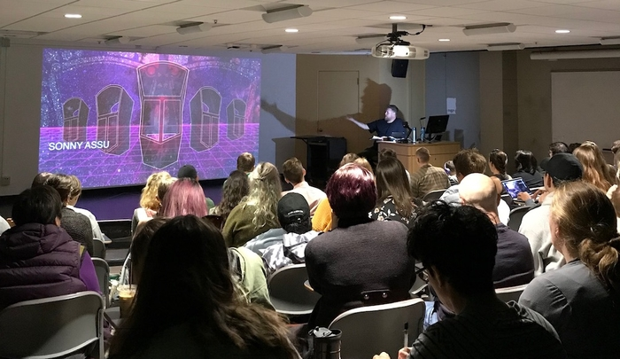 Sonny Assu lecture in Art History 233