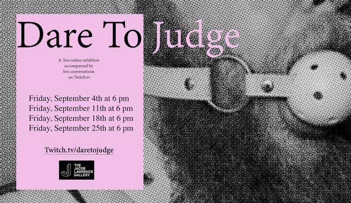 Dare to Judge curated by Stefan Gonzales