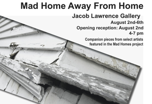 Mad Home Away From Home postcard
