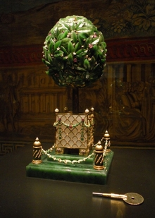 1911 Bay Tree Egg by Faberge