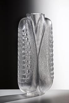 Gator Vase 5 by Amie McNeel