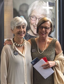 Anne Traver and Carole Fuller