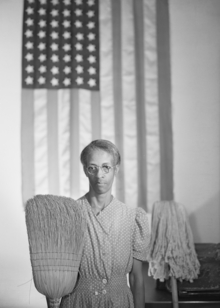 Government Charwoman by Gordon Parks