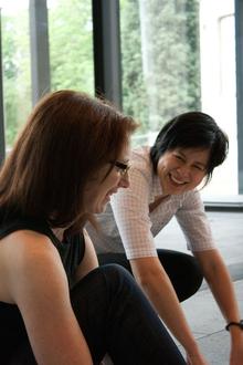 Kristine Matthews and Karen Cheng
