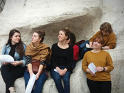 Students on 2016 Art History Seminar in Rome