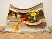 Still Life (Banquet Piece) by Krista Schoening