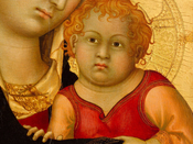 Madonna and Child by Simone Martini