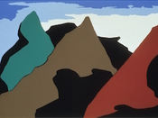 The Legend of John Brown 8 by Jacob Lawrence