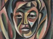 Self Portrait by George Tsutakawa