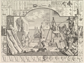 Analysis of Beauty, Plate 1, by William Hogarth