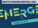 Website banner for Emerge, the 2021 Seattle Design Festival