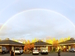 Double rainbow over CMA by Jared Bender