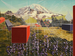 Mount Rainier, After by Mary Iverson