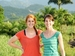 Kari Davidson and Katlin Jackson in Haiti