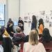 Exhibition design class critique
