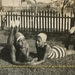Still image of two people lying on grass from Notes from the Panorama