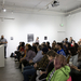 Danny Giles lecture in Jacob Lawrence Gallery