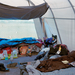 Tent interior by Eirik Johnson