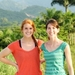 Kari Davidson and Katlin Jackson in Haiti
