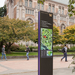 UW wayfinding guide signs by Studio Matthews
