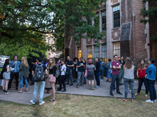 2017 Welcome BBQ for new graduate students