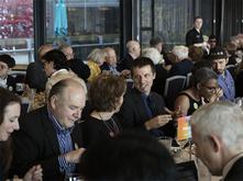 Dinner during the Anne Focke Arts Leadership Award Celebration