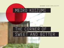 Meiro Koizumi exhibition poster design by Annabelle Gould