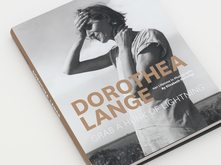 Dorothea Lange monograph design by Annabelle Gould