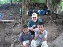 Bethany De Turk volunteering in Honduras