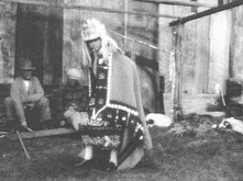 Feather dance in Boas film