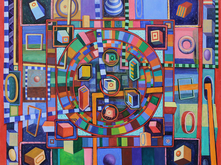 Dunhuang Roulette Mandala #1 by David Brody