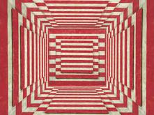 Red Stripe Room by David Brody