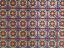 Painted tiles by George Rodriguez