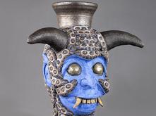 Diablo del Agua vessel by George Rodriguez