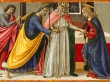 Marriage of the Virgin by Ghirlandaio