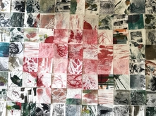 Printmaking final project by Gigi Costello-Montgomery