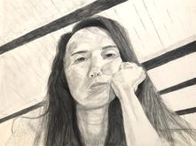 Self portrait by Gigi Costello-Montgomery